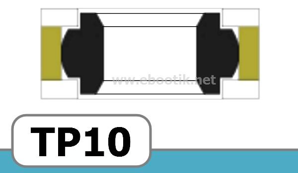 JOINTS TETE DE PISTON FORME TP10