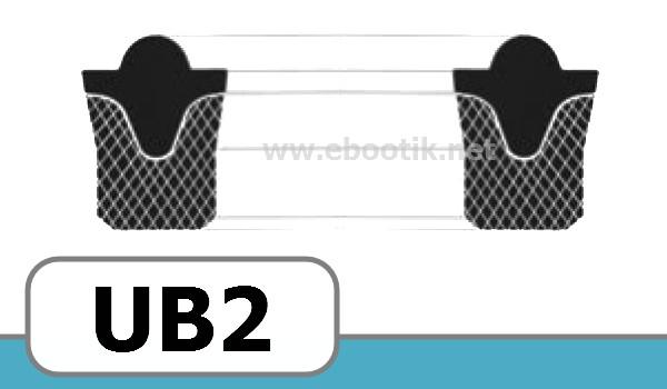JOINTS FORME UB2 FPM / VITON+TEXTILE