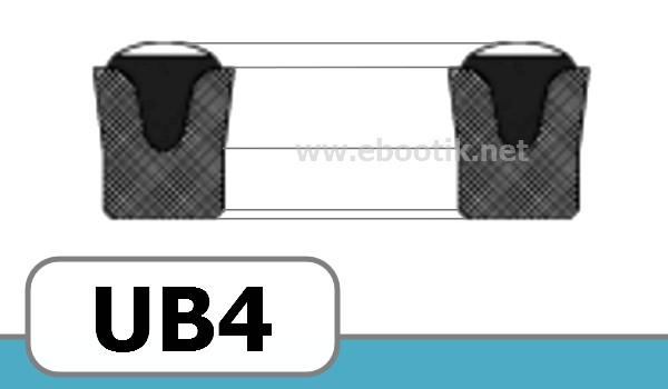 JOINTS FORME UB4 NBR/NITRILE+TEXTILE