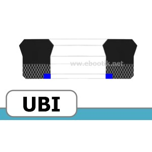 JOINTS FORME UBI FPM /<br>VITON+TEXTILE
